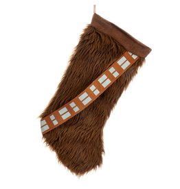 Kurt S. Adler Star Wars Chewbacca 18-Inch Plush Stocking