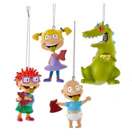 Kurt S. Adler Rugrats Blow-Mold Ornament 4-Pack