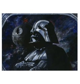 Giclee Star Wars Sith Lord by Kim Gromoll Canvas Giclee Print 21x25.5