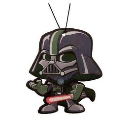 Plasticolor Star Wars Darth Vader Wiggler 1 pack air freshener Dark Ice