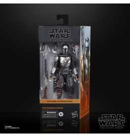 Hasbro Star Wars: The Black Series 6-inch The Mandalorian (Beskar Armor)