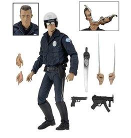 "NECA Terminator 2 - Ultimate T-1000 Motorcycle Cop 7"" Action Figure - NECA"