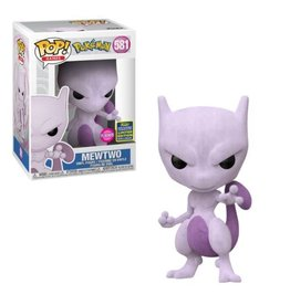 Funko Funko Pop! Games: Pokemon Mewtwo Flocked 2020 Summer Convention Exclusive