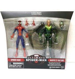 Hasbro Marvel Legends Ultimate Spider-Man & Marvels Vulture Exclusive 2-Pack