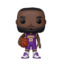 Funko NBA Lakers LeBron James (Purple Jersey) 10-Inch Pop! Vinyl Figure