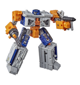 Hasbro Transformers Generations War for Cybertron Deluxe WFC-E18 Decepticon Airwave Modulator