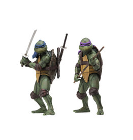 NECA TMNT Movie 2-pack Leonardo & Donatello