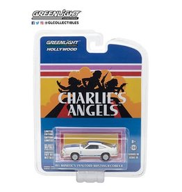 Greenlight Collectibles Charlie's Angels (1976-81) - 1976 Ford Mustang Cobra II 1:64 Scale Die-Cast Metal Vehicle