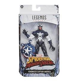 Hasbro Marvel Legends Series Venomized Captain America 6-Inch Action Figure Exclusive