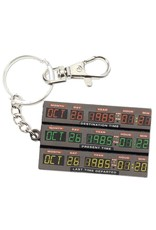 SD Toys Back to the Future Time Control Metal Keychain