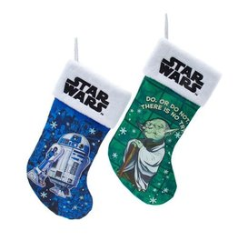 Kurt S. Adler Star Wars Yoda  19-Inch Stocking