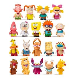 kidrobot NICKELODEON NICK 90S BLIND BOX TOY FIGURES BY KIDROBOT - SERIES 1