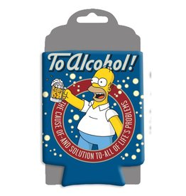 Silver Buffalo The Simpsons To Alcohol Can Hugger
