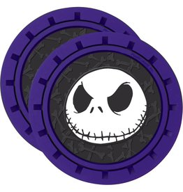 Plasticolor Nightmare Before Christmas 2-Pack Car Cup Coaster Set