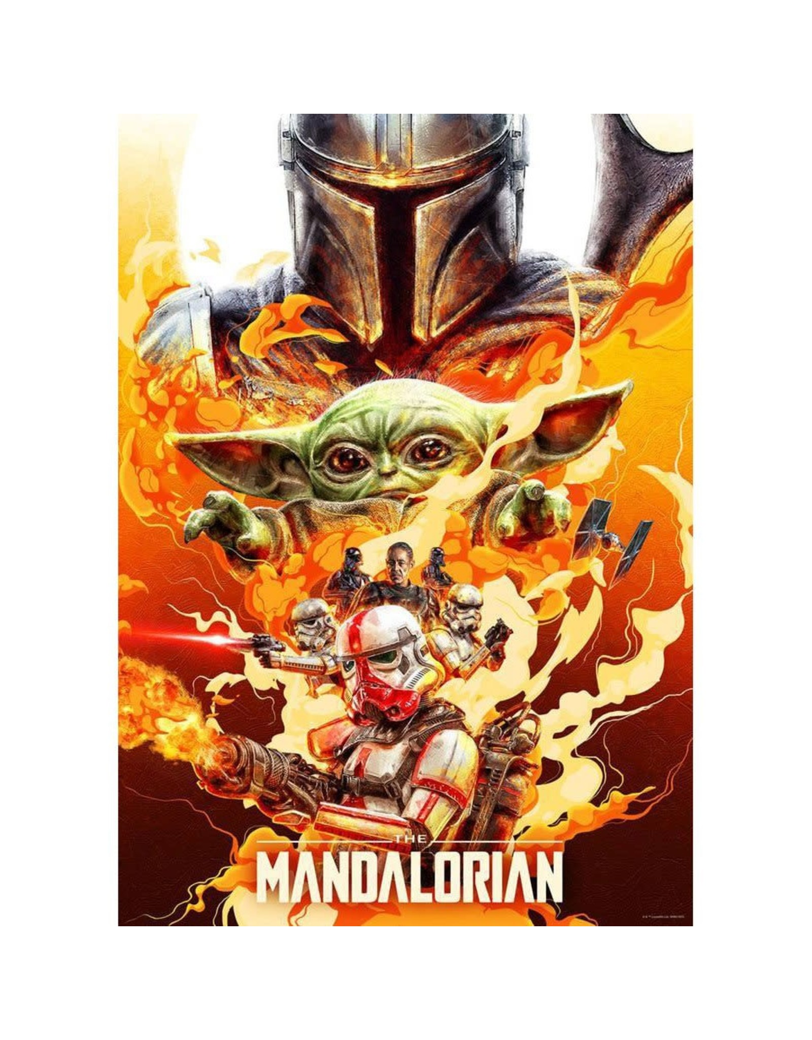 ACME Archives Star Wars: The Mandalorian Redemption by Chris Christodoulou Lithograph Art Print 17x24