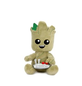 kidrobot MARVEL GUARDIANS OF THE GALAXY BUTTON GROOT PHUNNY PLUSH