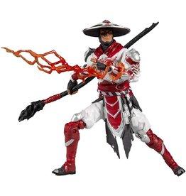 McFarlane Toys Mortal Kombat XI Raiden (Bloody White Hot Fury Ver.) Action Figure