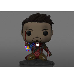 Funko Pop! Marvel: Avengers: Endgame - I Am Iron Man Glow-in-the-Dark PX Previews Exclusive