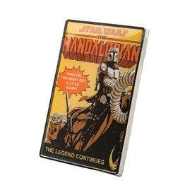 Salesone Star Wars The Mandalorian The Legend Continues Pin