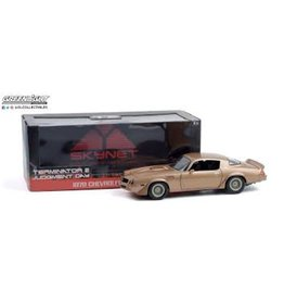 Greenlight Collectibles Terminator 2: Judgement Day (1991) 1979 Chevrolet Camaro Z/28 1:18 Scale Die-Cast Metal Vehicle