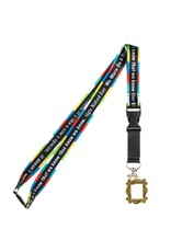 Bioworld Friends Quotes Taping Lanyard
