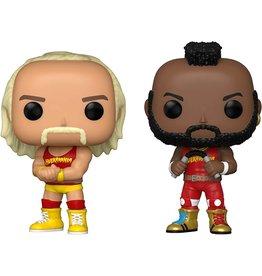 Funko Funko Pop! WWE - Hulk Hogan & Mr. T, Hulkamania 2 Pack, Amazon Exclusive