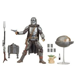 Hasbro Star Wars The Black Series Din Djarin (The Mandalorian) and The Child
