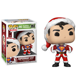 Funko Pop! Heroes: DC Holiday - Superman in Holiday Sweater
