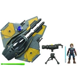 Hasbro Star Wars Mission Fleet Anakin Skywalker Jedi Starfighter Vehicle Stellar Class
