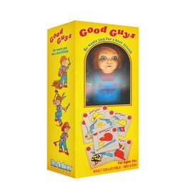 Super7 Child's Play ReAction Chucky in Good Guy Box NYCC 2020 Exclusive Figure