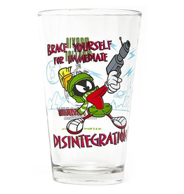 PopFun Merchandising Looney Tunes Marvin the Martian Toon Tumbler Pint Glass
