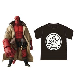 1000 Toys Hellboy BPRD Shirt Version 1:12 Scale Action Figure - Previews Exclusive