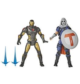 Hasbro Marvel Gamerverse 6-Inch Iron Man vs. Task Master Action Figures