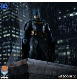 Mezco Mezco Toys One:12 Collective DC Supreme Knight Batman Blue Previews Exclusive Figure