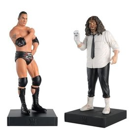 Eaglemoss WWE Championship Collection The Rock and Sock Connection Figures