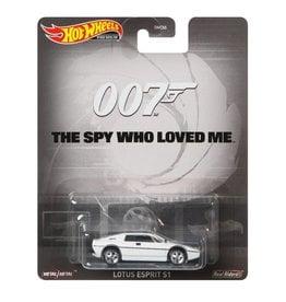 Mattel Hot Wheels 007 The Spy Who Loved Me Lotus Esprit S1