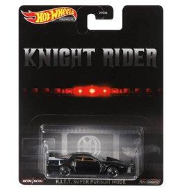Mattel Hot Wheels Knight Rider K.i.t.t Super Pursuit Mode, Premium