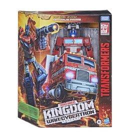 Hasbro Transformers War for Cybertron: Kingdom Leader Optimus Prime
