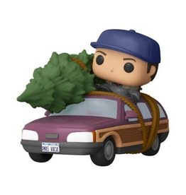 Funko Funko Pop! Rides: Clark Griswold with Station Wagon - Walmart Exclusive