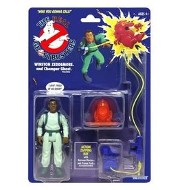 Hasbro Kenner 2020 The Real Ghostbusters Retro Winston Zeddemore and Chomper Ghost