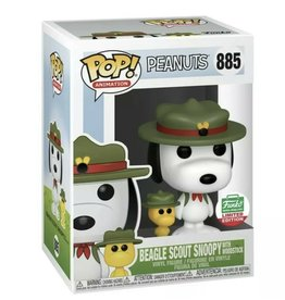 Funko Funko Pop! Animation Peanuts - Beagle Scout Snoopy with Woodstock