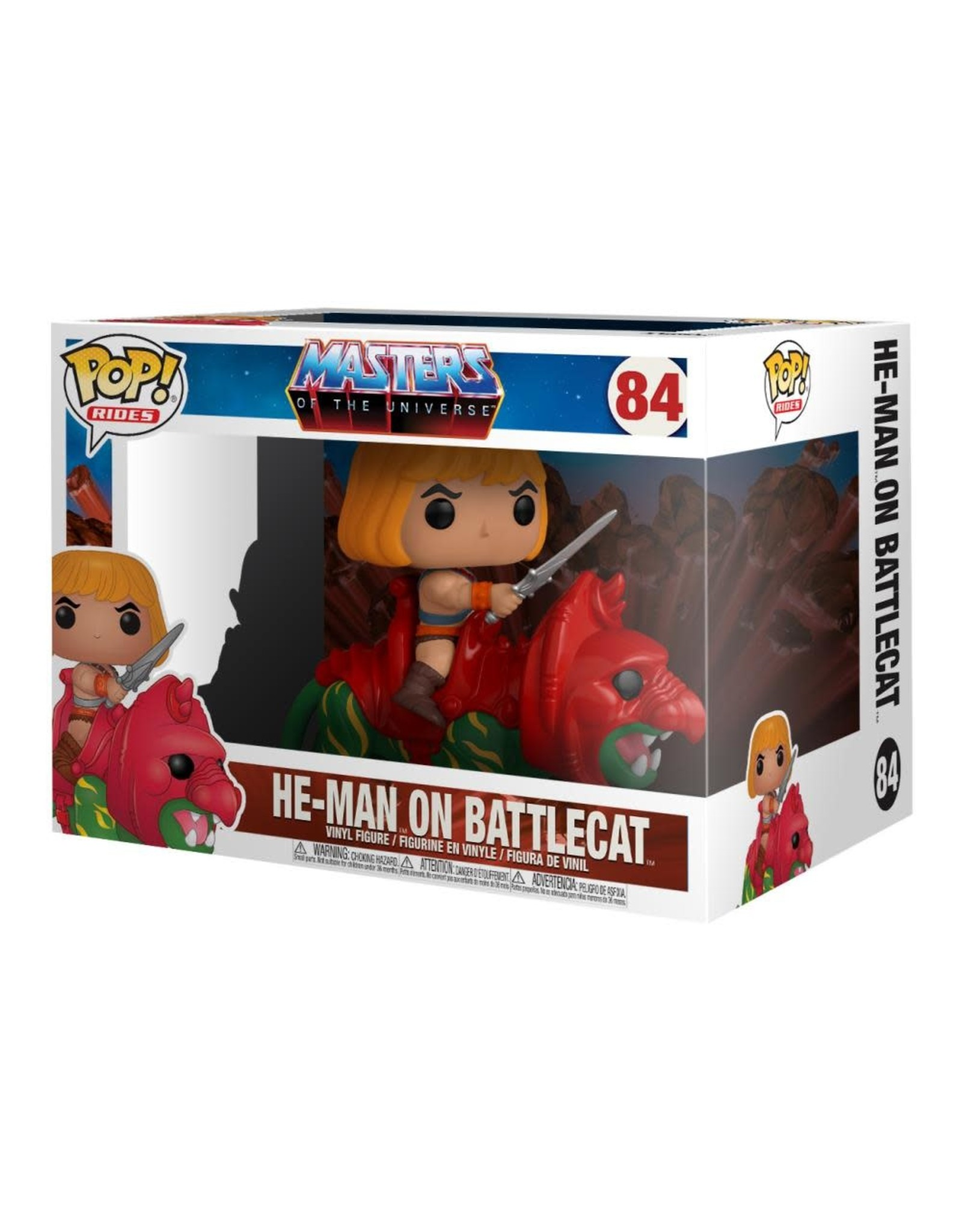 Funko Pop! Rides: Masters of the Universe - He-Man on Battle Cat