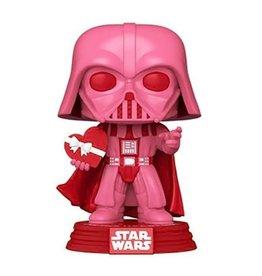 Funko Star Wars Valentines Darth Vader with Heart Pop! Vinyl Figure