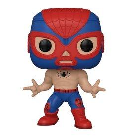 Funko Pop! Marvel: Luchadores Spider-Man
