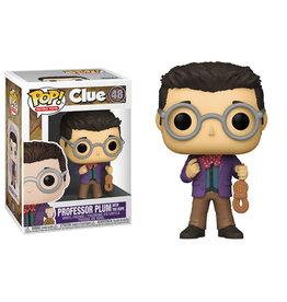 Funko Pop! Hasbro Retro Toys: Clue - Professor Plum w/ Rope
