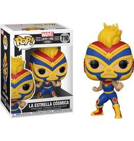 Funko Pop! Marvel: Luchadores Captain Marvel