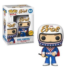 Funko Pop! Icons: Evel Knievel (Wearing Cape) (Chase)
