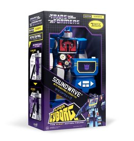 Super7 Transformers Super Cyborg - Soundwave (G1 Full Color)