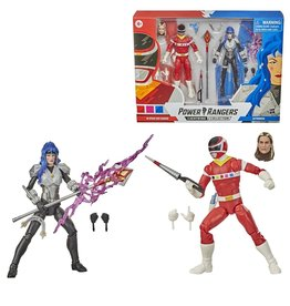 Hasbro Power Rangers Lightning Collection 6-Inch In Space Red Ranger and Astronema Action Figure Battle Pack