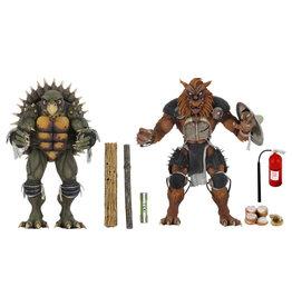 NECA NECA - Teenage Mutant Ninja Turtles II The Secret of the Ooze Tokka and Rahzar 2-Pack